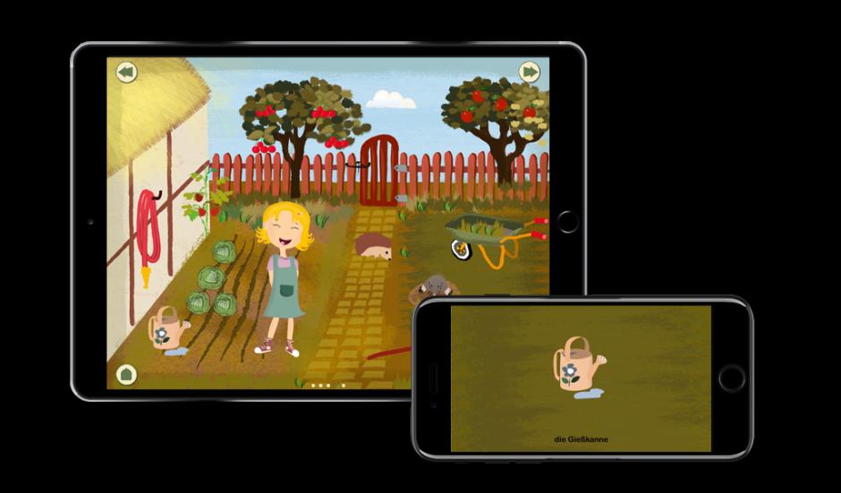 KinderApp Farm Garten